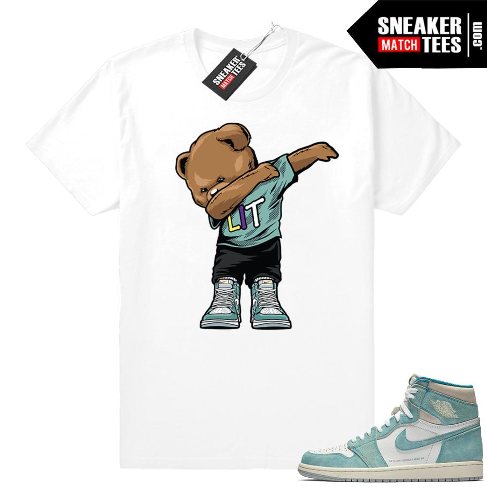 Shirts Turbo Green 1s Jordan