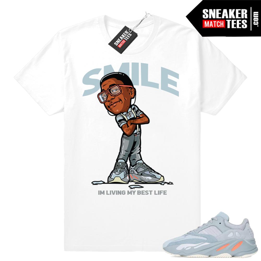 Sneaker Shirts match Yeezy Boost 700 inertia