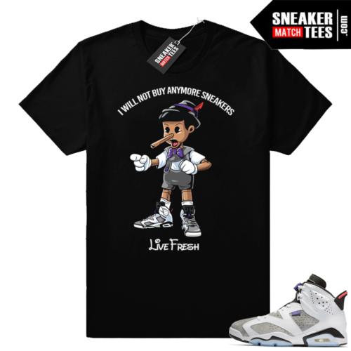 Sneaker head Pinocchio Flint 6s shirt