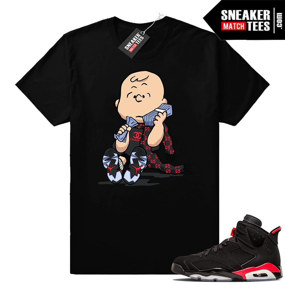 Sneaker shirts Infrared 6s Jordan
