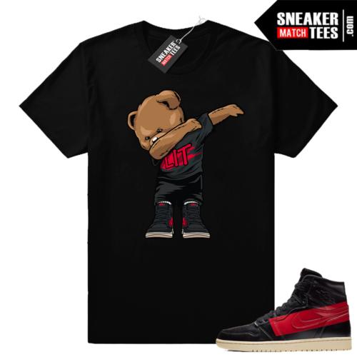 Sneaker shirts Jordan 1 Couture