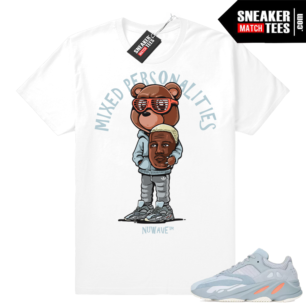 Sneaker shirts Yeezy Boost 700