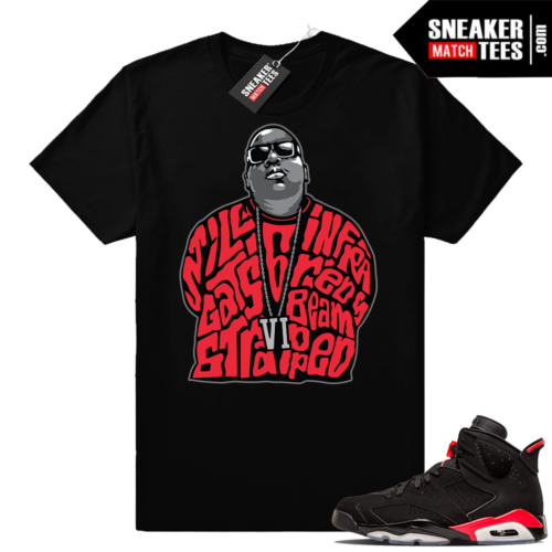 Sneaker tee shirts Infrared 6s