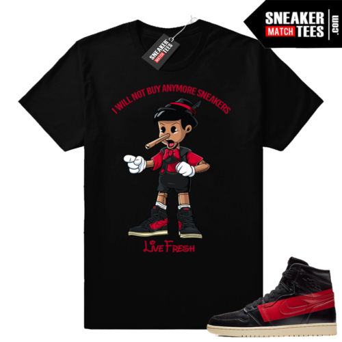 Sneaker tees Couture 1s