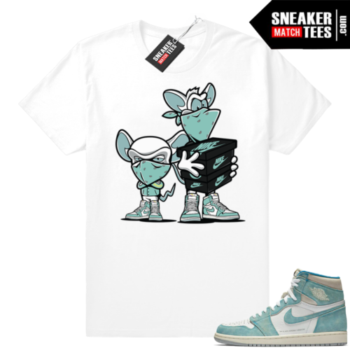 Sneaker tees Turbo Green 1s