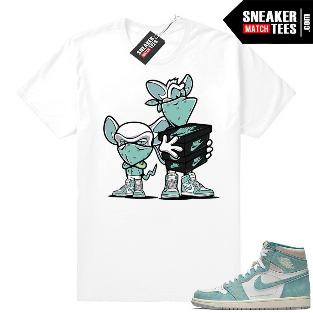 Sneaker tees Turbo Green 1s