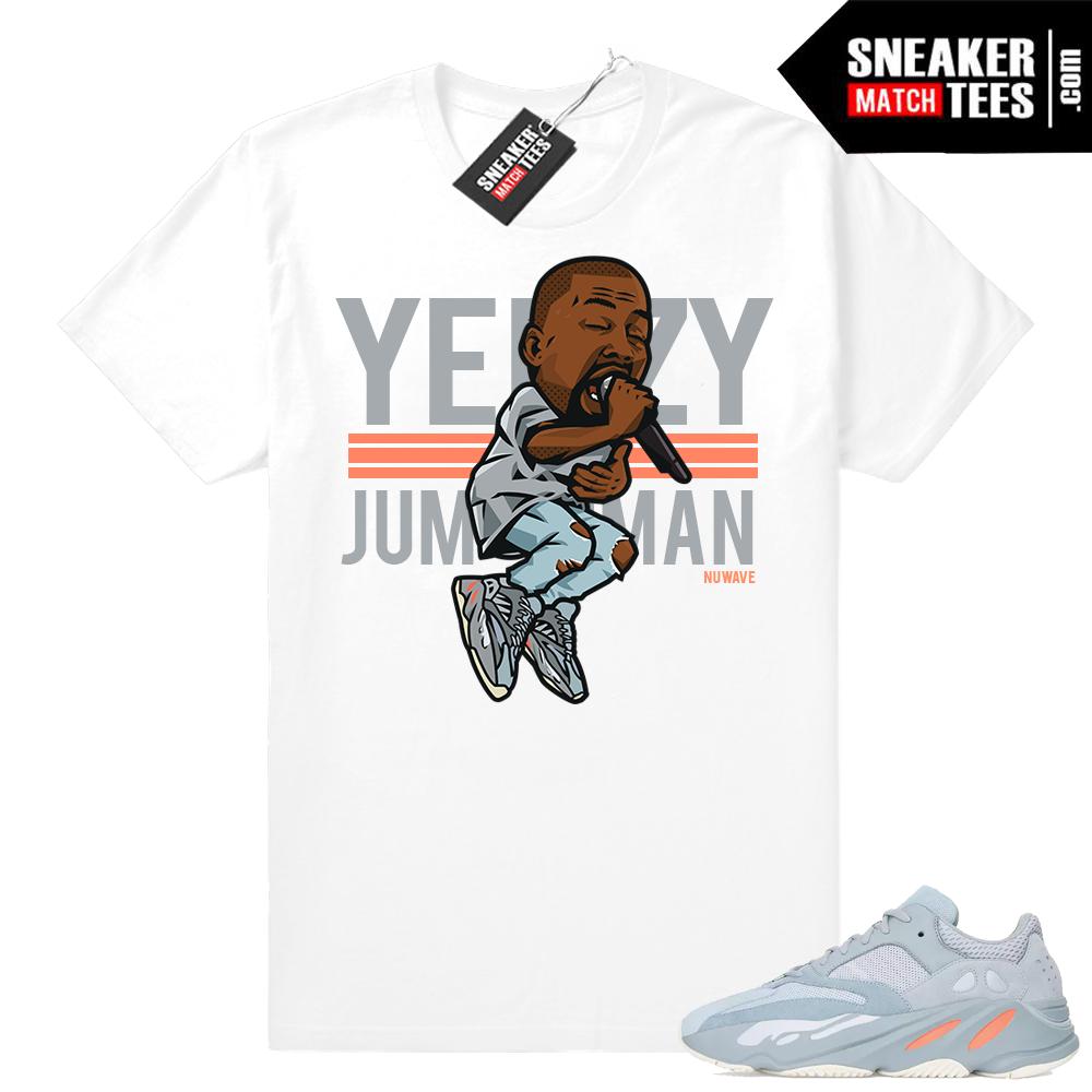 Sneaker tees Yeezy Inertia match