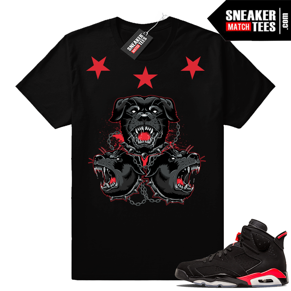 Sneaker tees match Infrared 6s