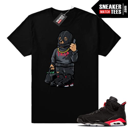 Sneaker tees match Jordan 6 infrared