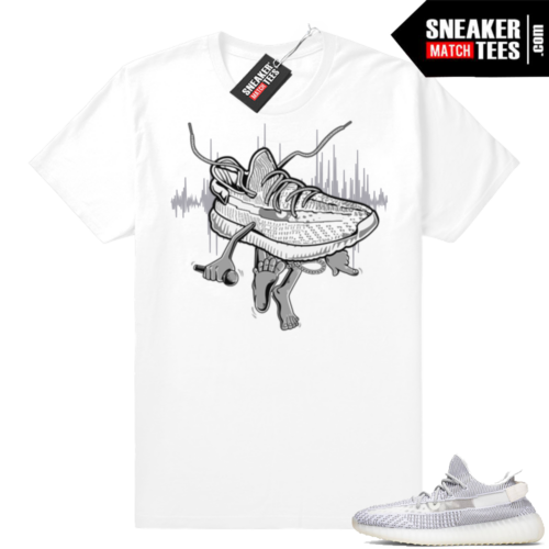 Static Yeezy Boost 350 t-shirt