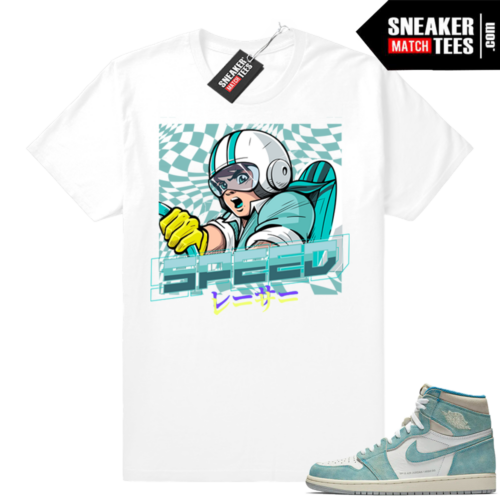 Turbo Green 1s Speed Racer tee