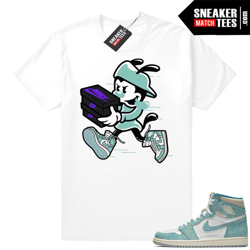 Turbo Green Sneaker tees Jordan 1