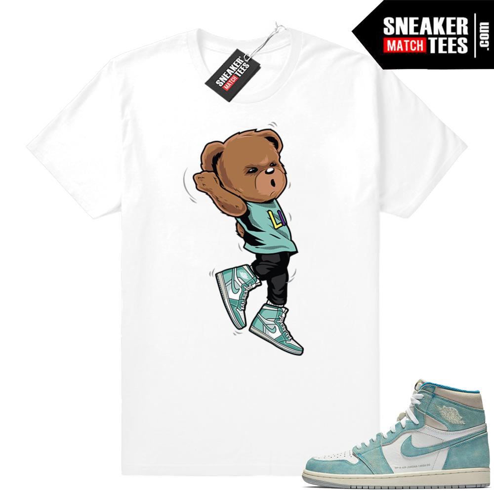 Turbo Green shirts Jordan 1