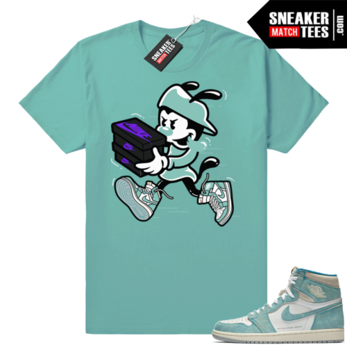 Turbo green 1s sneaker tees