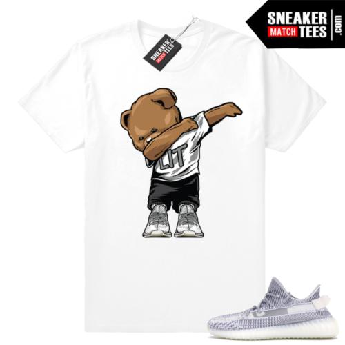 Yeezy 350 Static matching sneaker tees