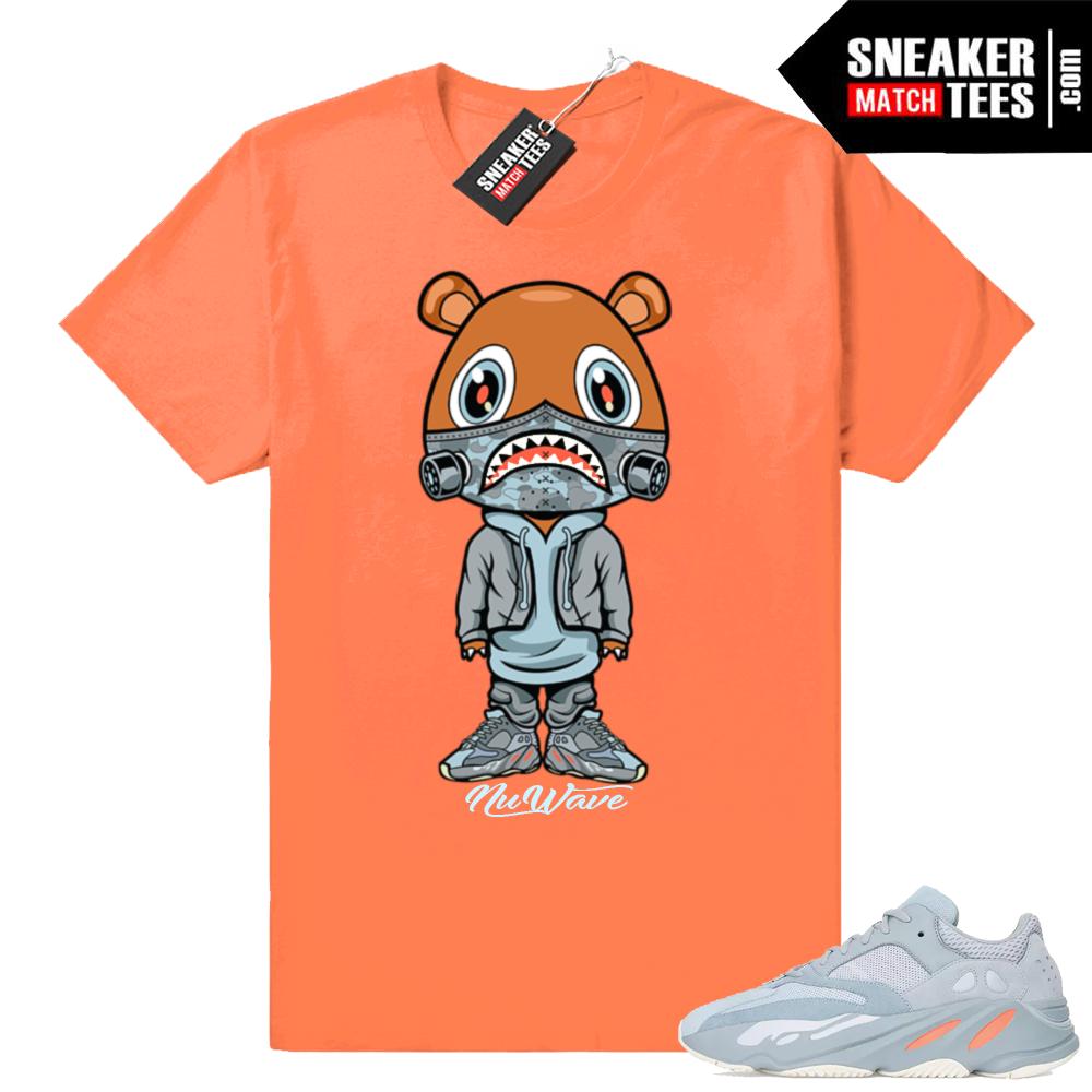 Yeezy 700 Inertia matching shirts