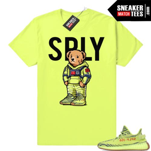 Yeezy Bear Supply Frozen Yellow Volt shirt