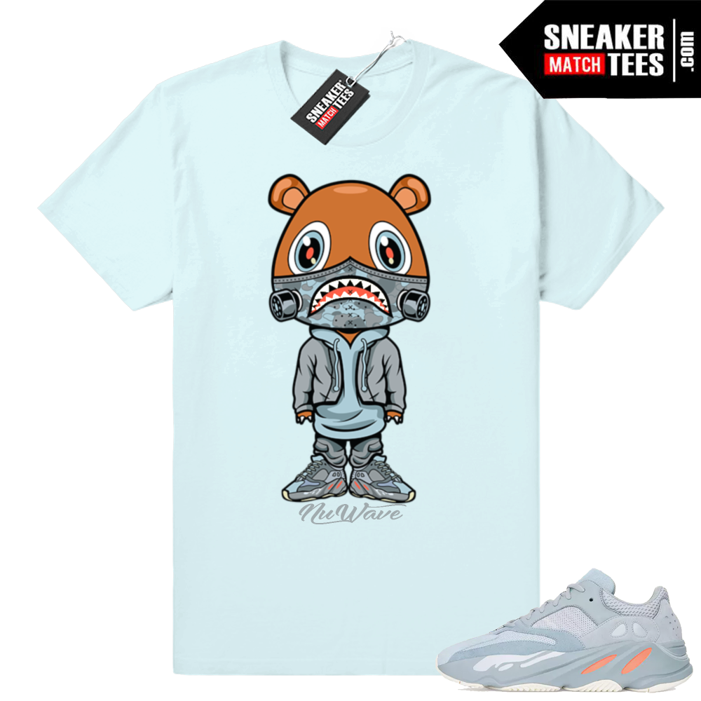 Yeezy Bear shirt Inertia 700 match