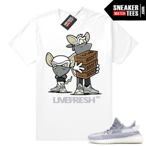 Yeezy Boost 350 Static sneaker tees
