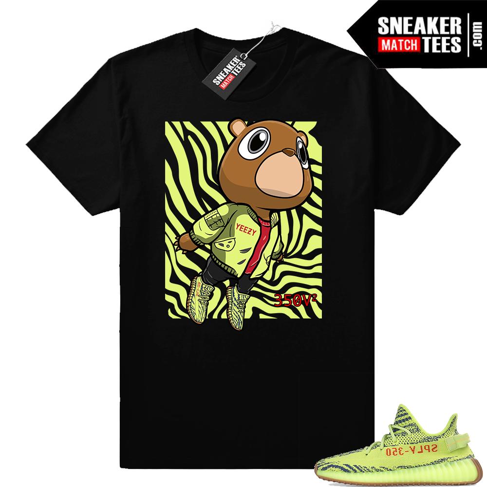 Yeezy Boost 350 sneaker tees Frozen Yellow