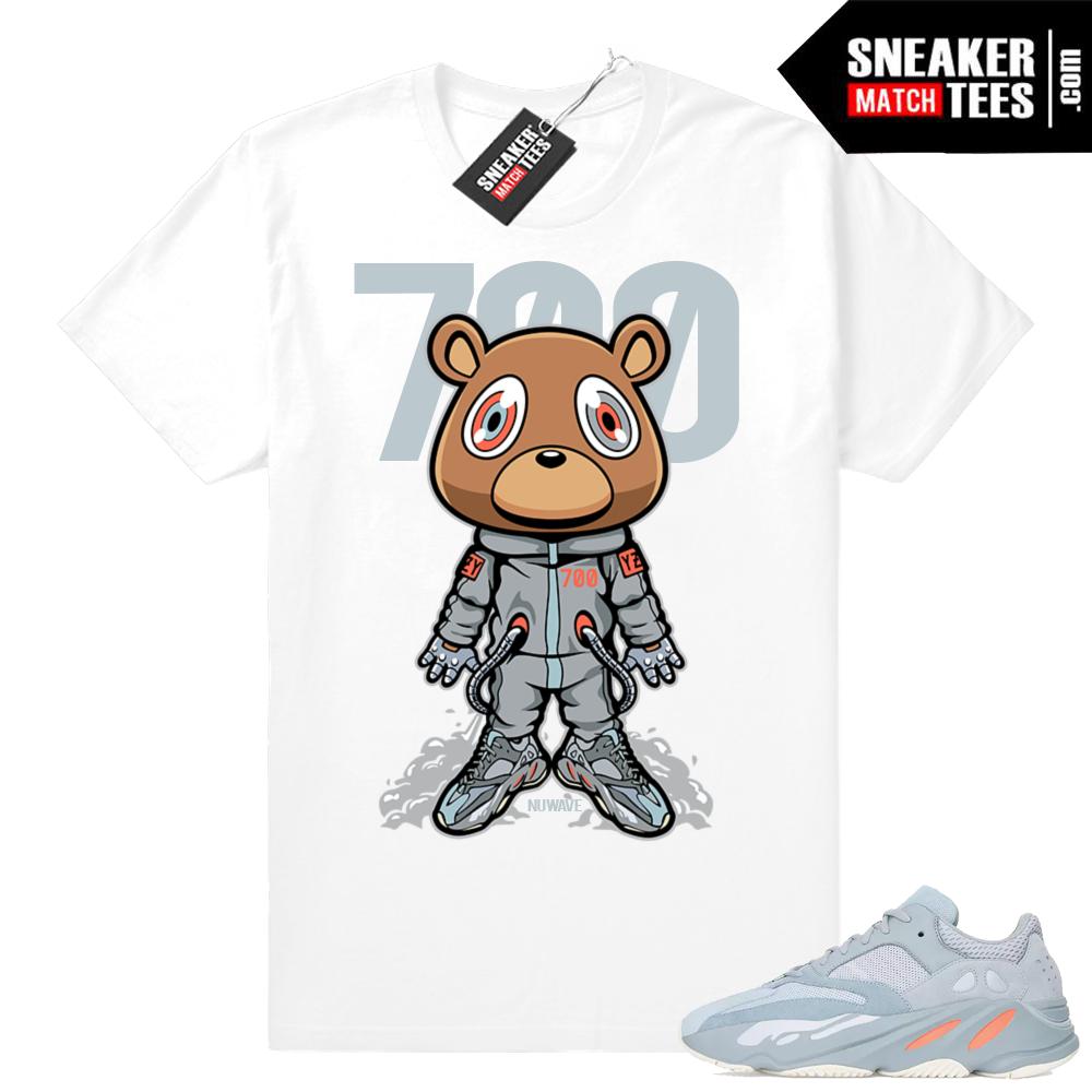 Yeezy Boost 700 Inertia tee shirts
