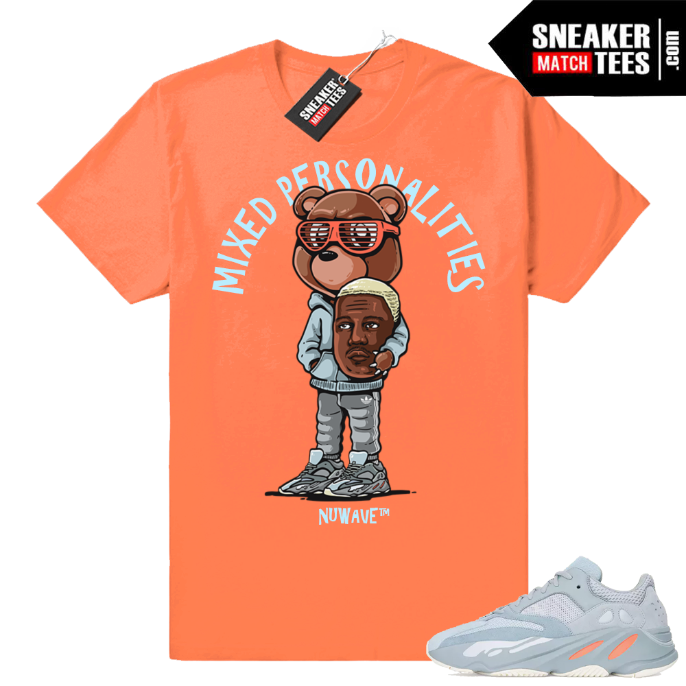 Yeezy Boost sneaker tees match