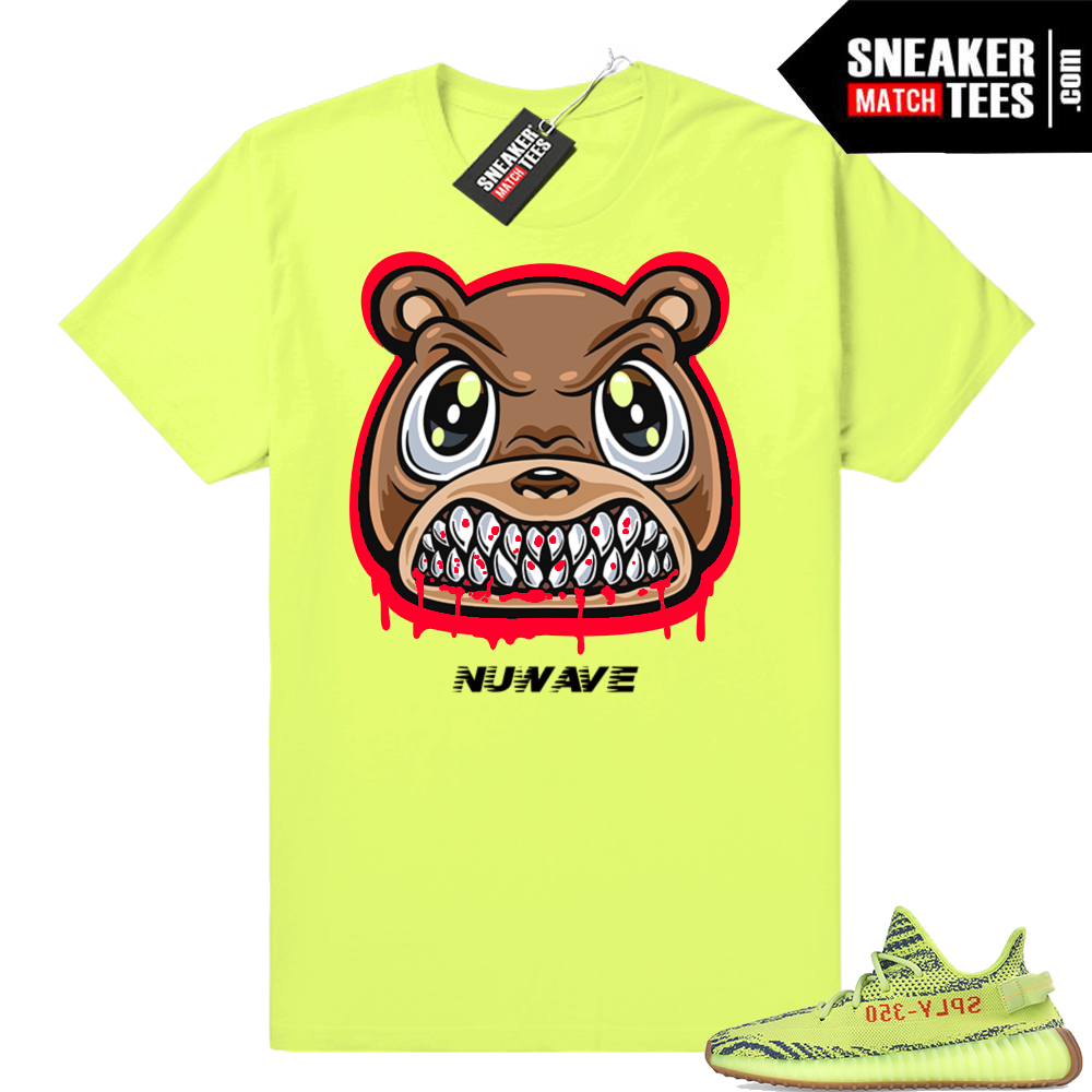 Yeezy Frozen Yellow Angry Bear shirt