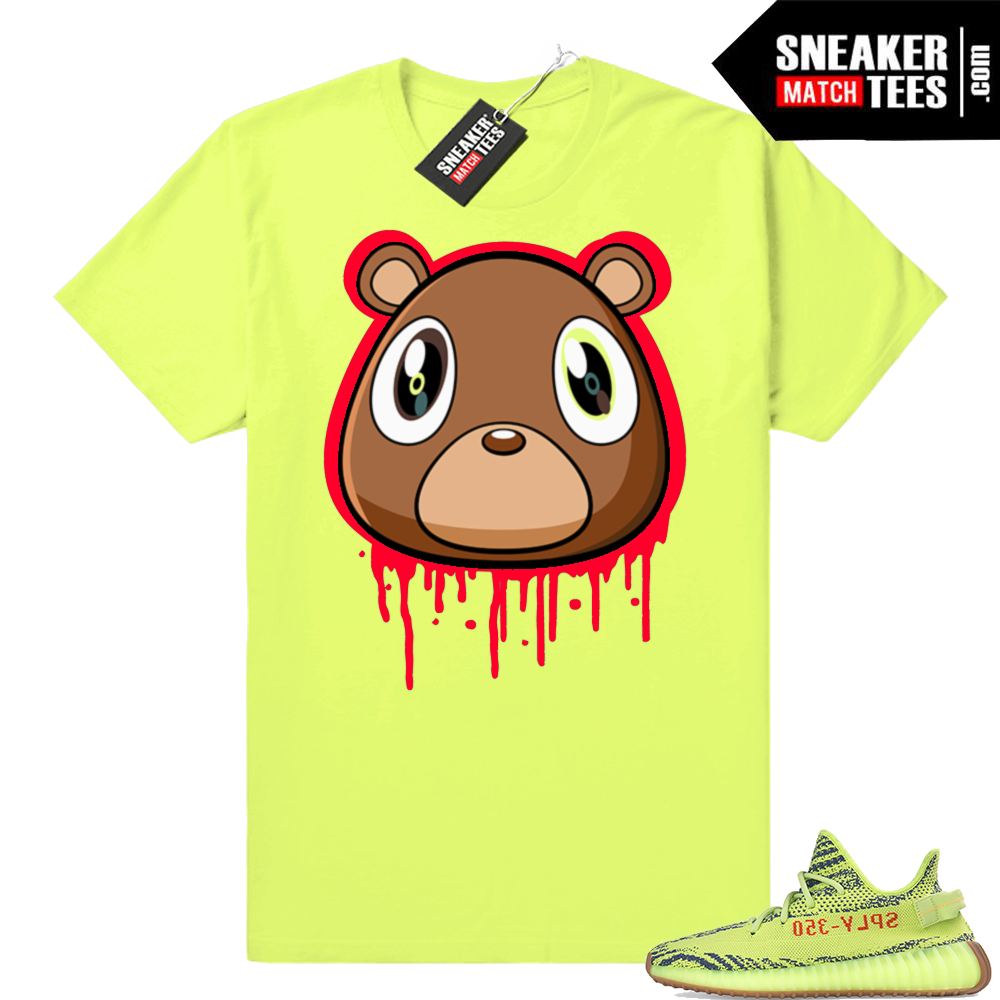 Yeezy Frozen Yellow sneaker tees shirt