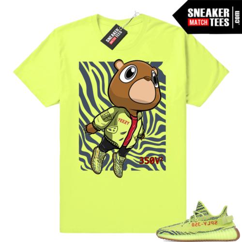 Yeezy Frozen yellow sneaker shirts