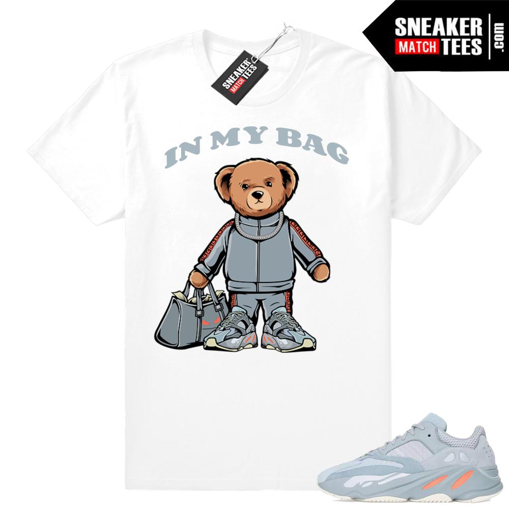 Yeezy Inertia 700 sneaker shirts match