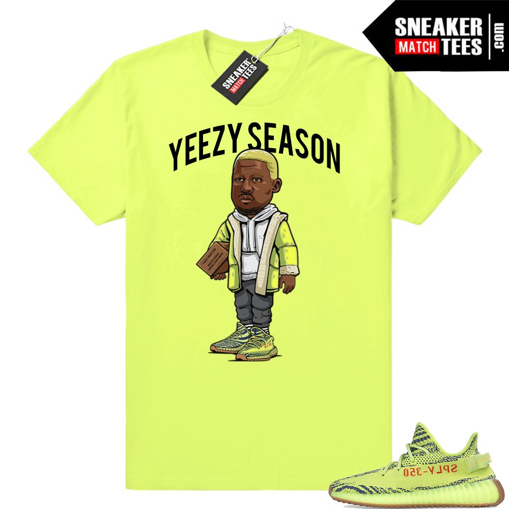 Yeezy Season shirt Frozen yellow