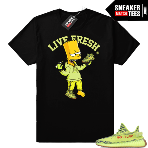 Yeezy Sneaker shirts Frozen Yellow