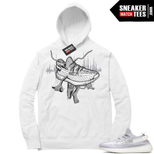 Yeezy Static V2 White hoodie