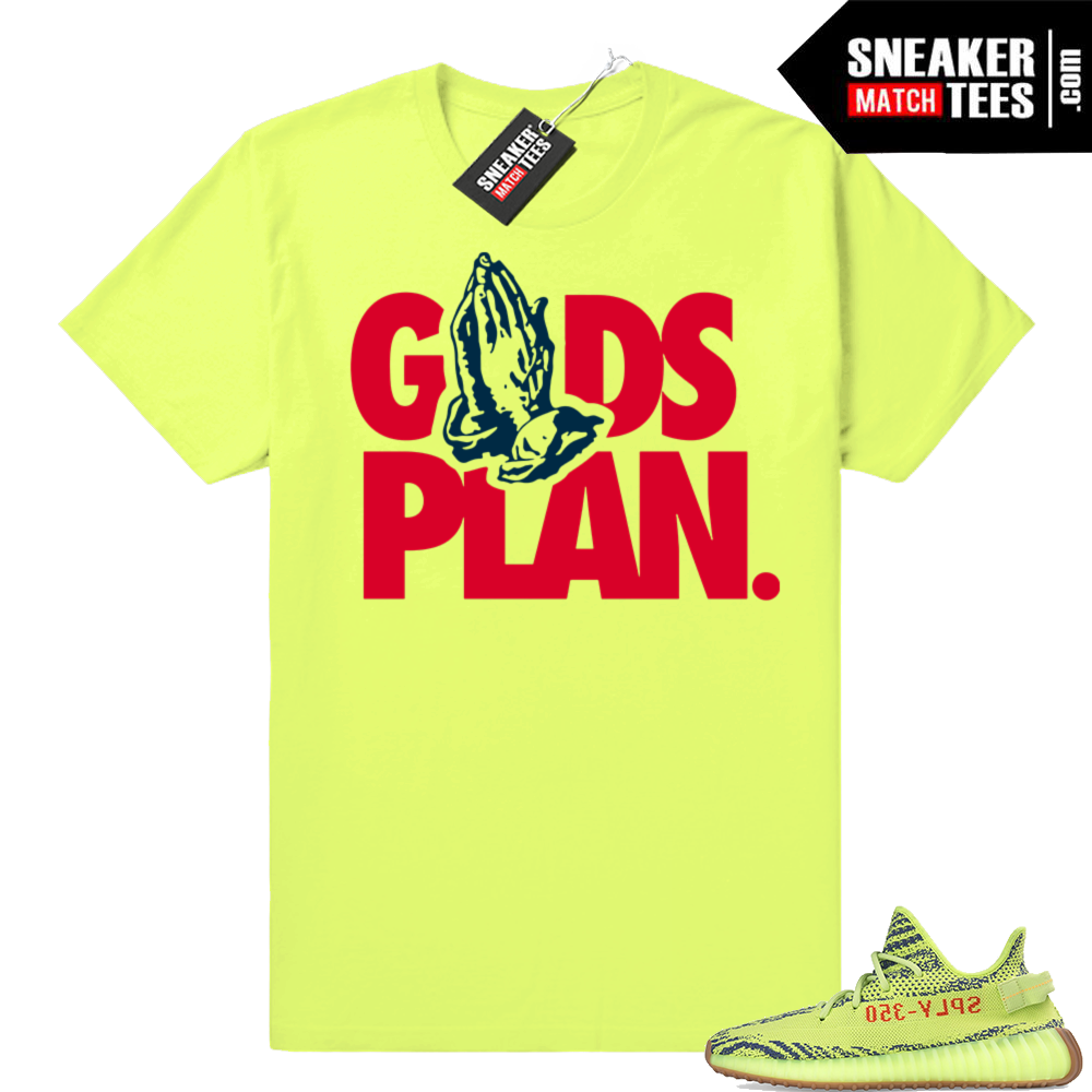 Yeezy boost 350 V2 Frozen yellow tees