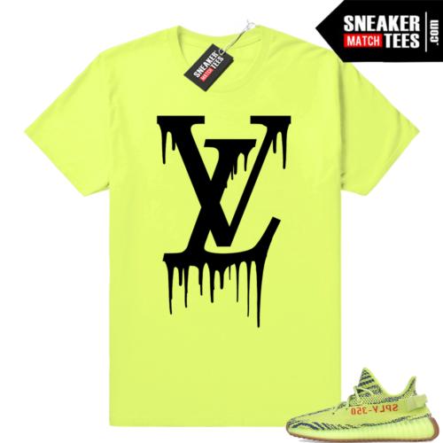 Yeezy frozen yellow shirts match