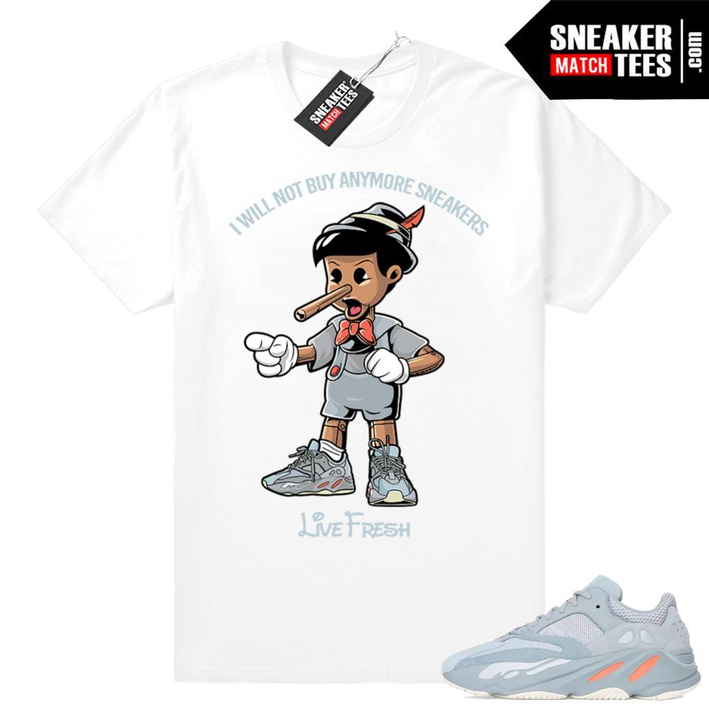 Yeezy sneaker match Inertia 700
