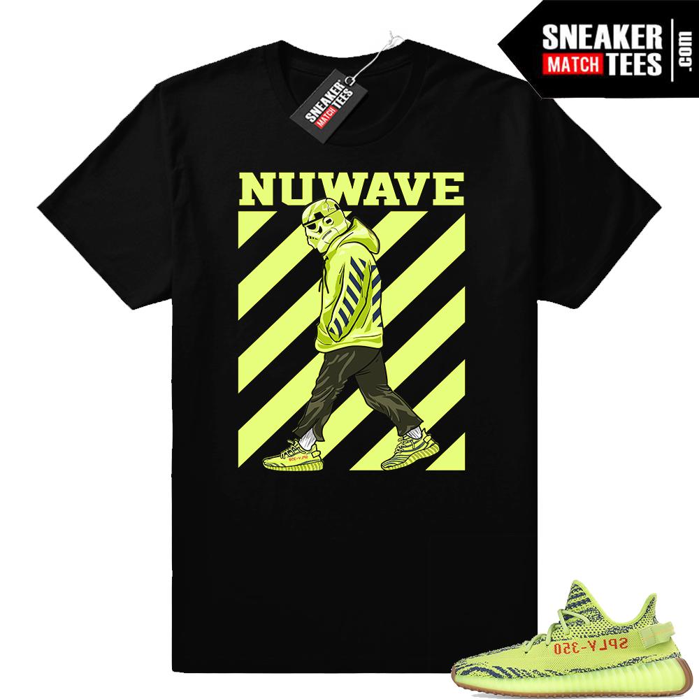 Yeezy sneaker tees Frozen yellow
