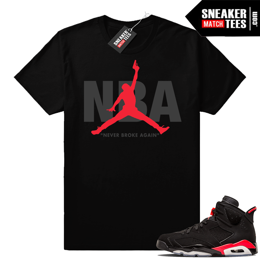 Young Boy NBA Infrared 6s shirt