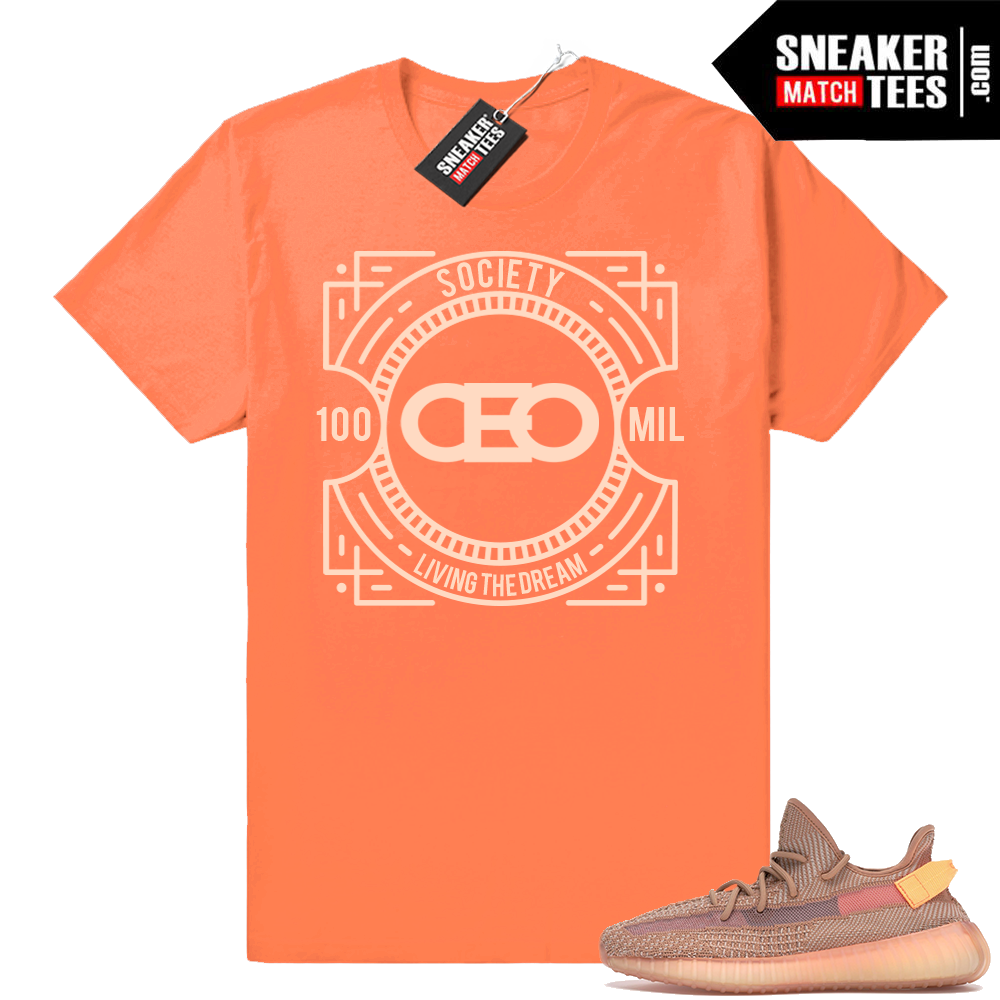 CEO Yeezy Boost 350 Clay t shirt
