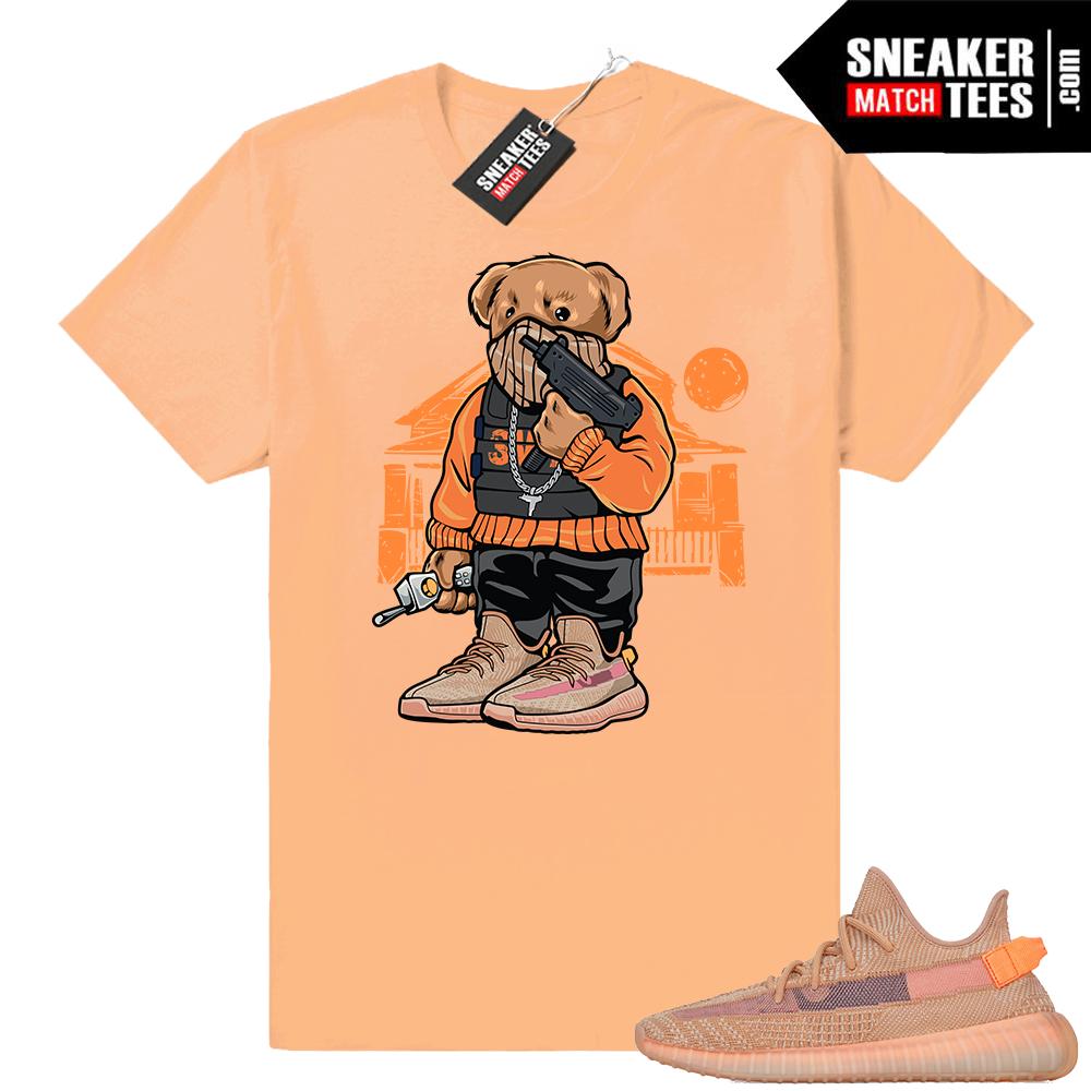 Clay Yeezy 350 V2 sneaker tees