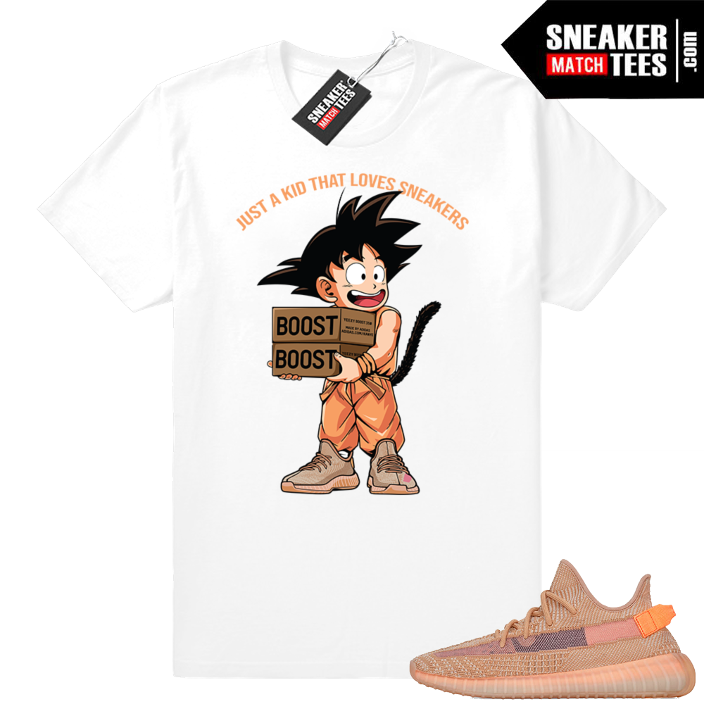 Clay Yeezy 350 boost Just A Kid T-shirt