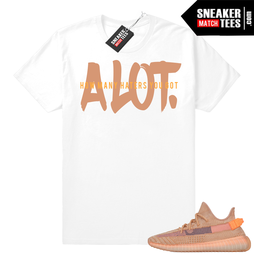 Clay Yeezy 350 t shirt