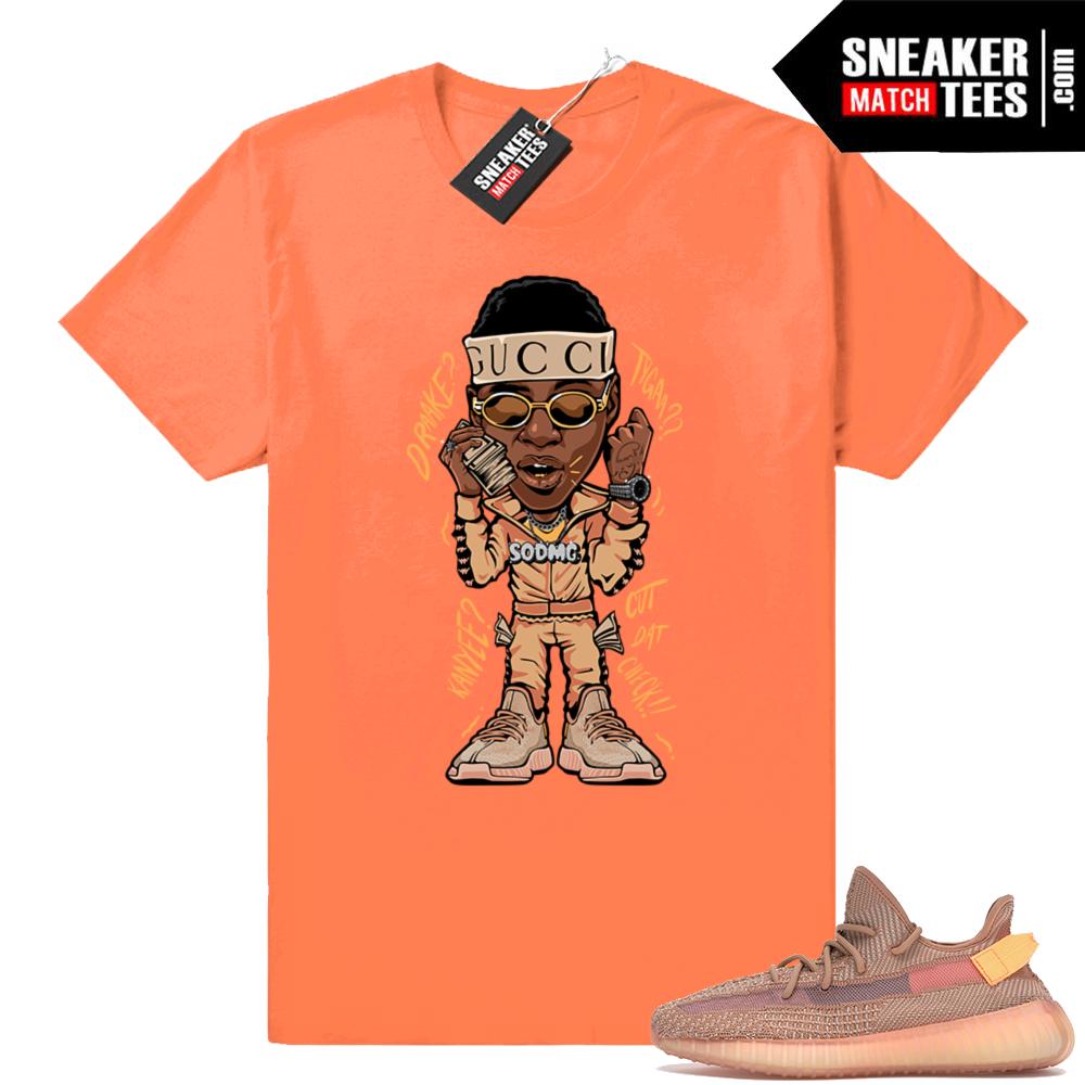 Clay Yeezy Boost 350 V2 Soulja Boy t-shirt