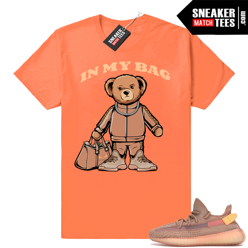 Clay Yeezy boost 350 matching tees