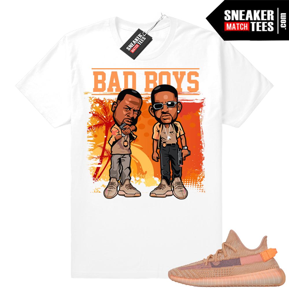 Clay Yeezys Bad Boys T-shirt