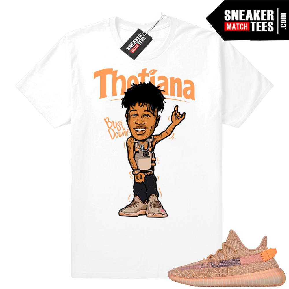 Clay Yeezys Thotiana t-shirt