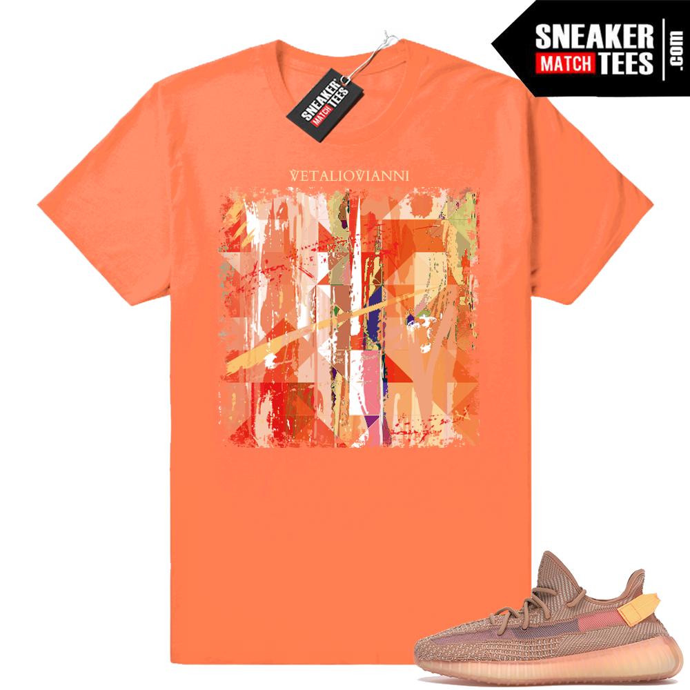 Clay Yeezys matching shirt
