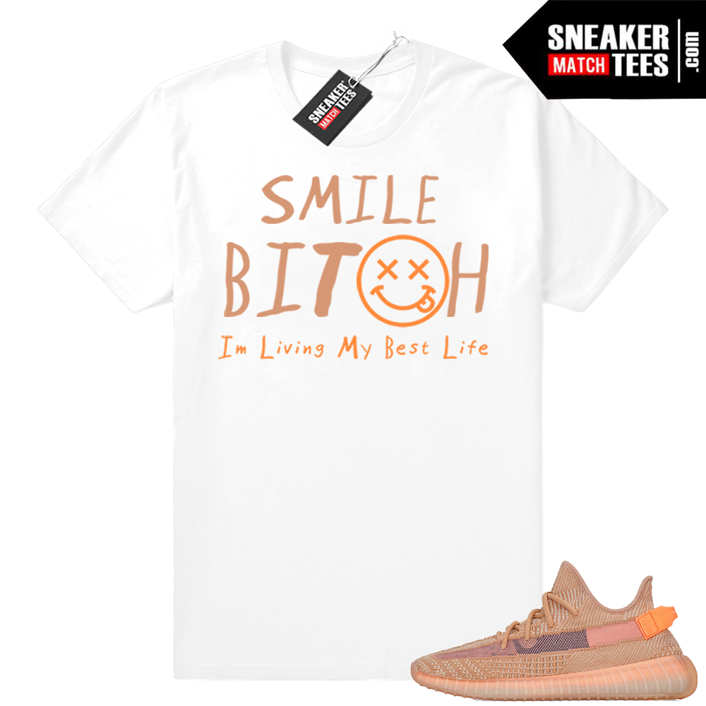 Clay Yeezys matchng apparel