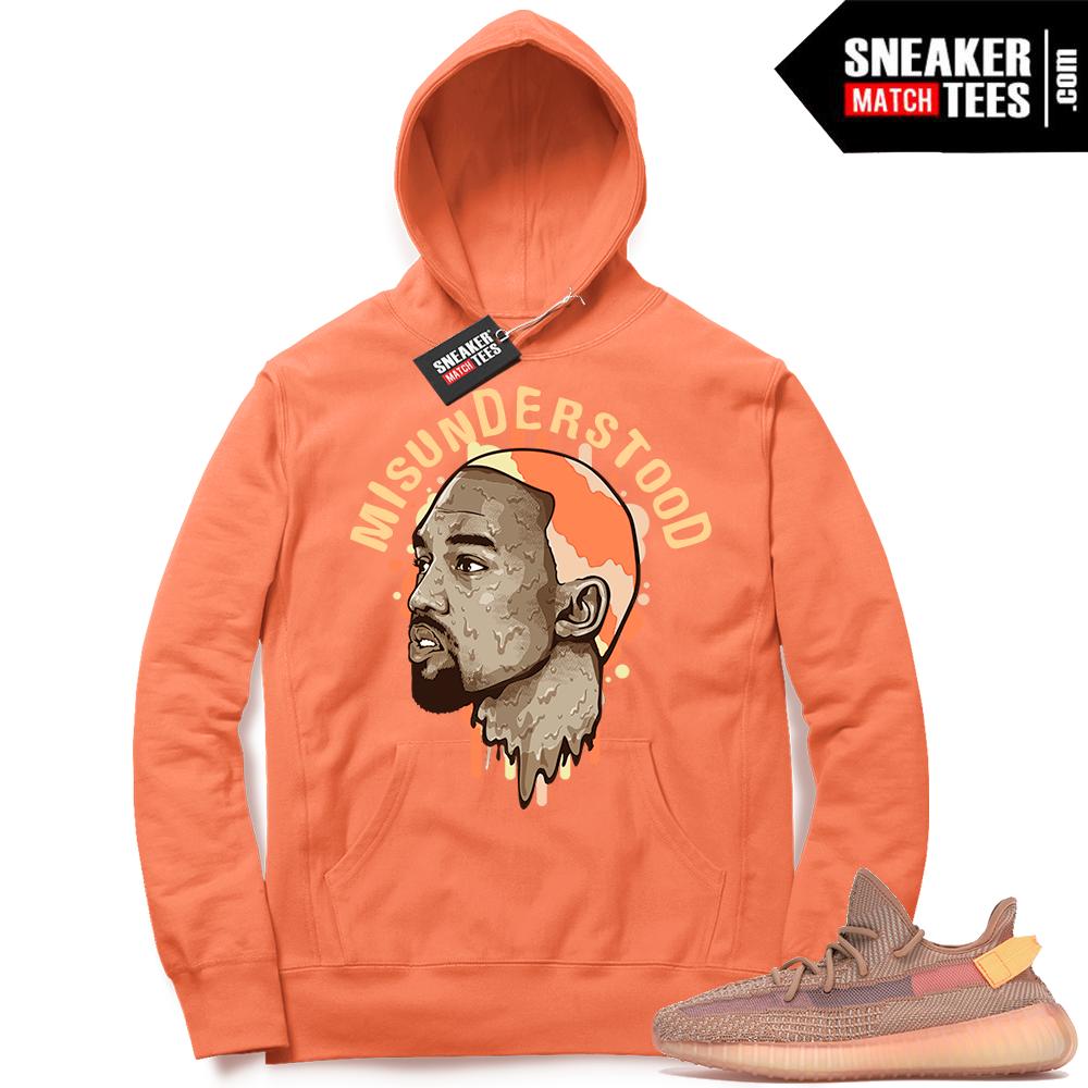 Clay Yeezys sneaker hoodie