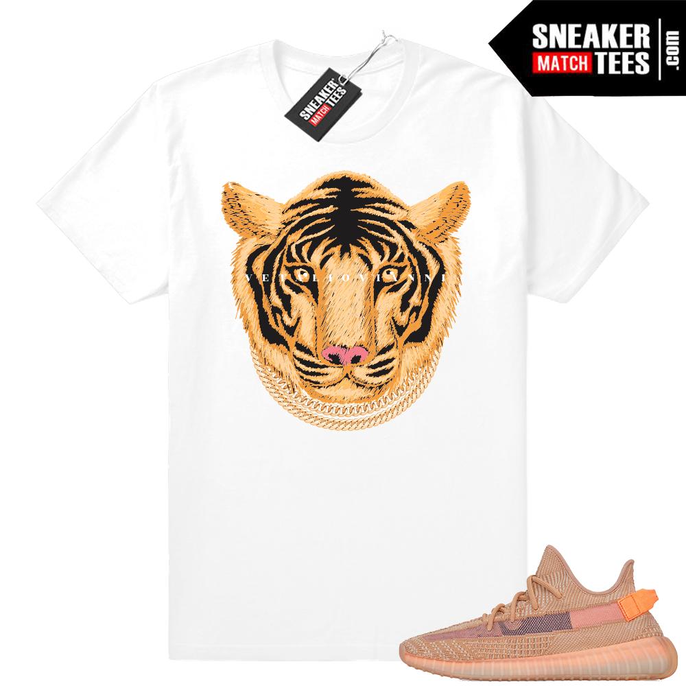 Clay Yeezys sneaker match tee shirt
